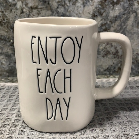 Rae Dunn ENJOY EACH DAY Mug